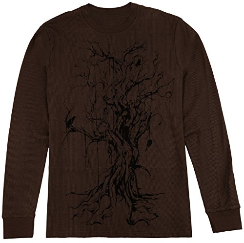 Men's MMA Long Sleeve Shirt In 8 Great Designs & Colors (Dark Brown, X-Large) Kobe Christmas 8 Shirt