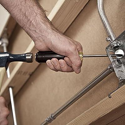 Klein Tools 602-4DD 1/4-Inch Keystone Demolition Driver, 4-Inch Shank - Screwdriver Electric - .com
