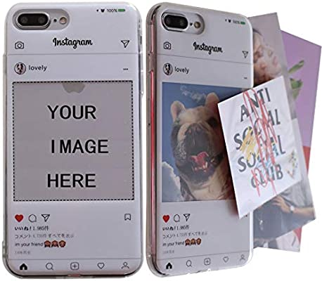 Amazon.com: Carcasa personalizada para iPhone 8, crea tu ...