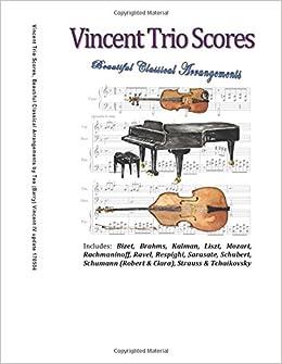 Amazon com: Vincent Trio Scores: 16 Original Arrangements