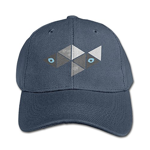 Kids Funny Triangle Siberian?husky Adjustable Baseball Custom Peak Cap - Point Stony Fashion