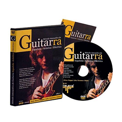 Método interactivo Atalaya Musical Libretto DVD de la guitarra clásica/ eléctrica/acústica: Amazon.es: Instrumentos musicales