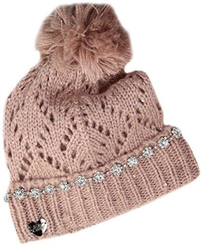 Betsey Johnson Women's On The Rocks Cuff Hat, Blush, One Size
