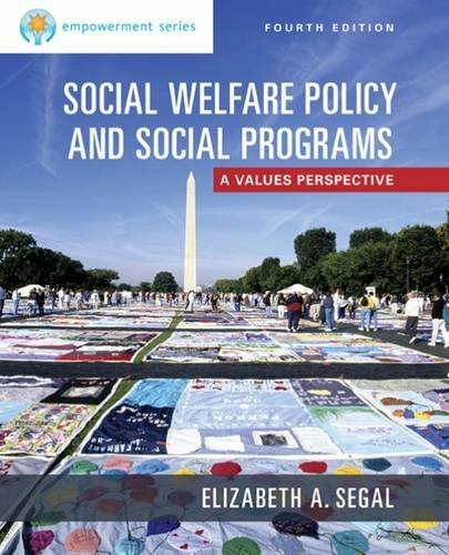 Empowerment Series: Social Welfare Policy and Social Programs by Segal Elizabeth A. (2015-05-05) Paperback (Social Welfare Policy And Social Programs 4th Edition)