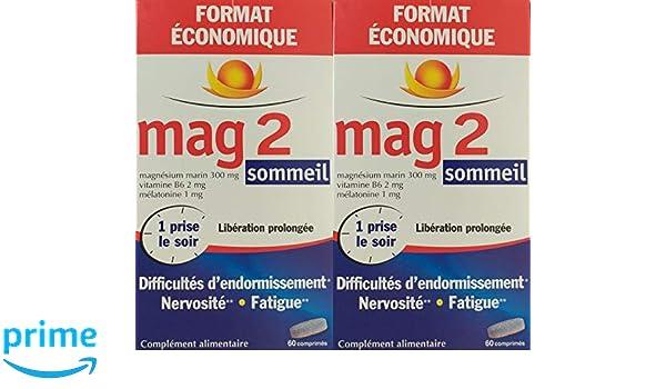 Mag 2 sueño - Juego de 2 x 60 pastillas: Amazon.es: Salud y cuidado personal