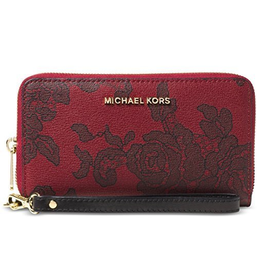 Michael Kors Jet Set Travel Phone Case BLACK by Michael Kors