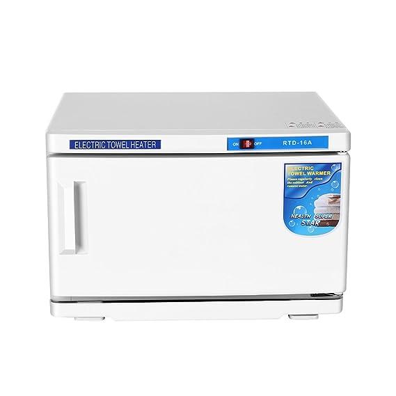 2 en 1 Esterilizador de calor Alta Temperatura Esterilizador Calentador de la toalla para salón de belleza Manicure Peluquería estudio y en casa: Amazon.es: ...