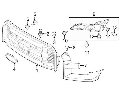 Ford Oem Headlight Bezel Fl3z17c754aa Image 7