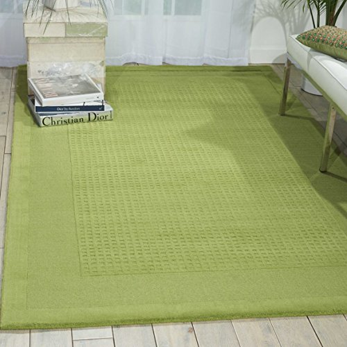 Nourison Westport (WP30) Lime Rectangle Area Rug, 5-Feet by 8-Feet  (5' x - Outlets Westport