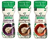 3 Pack Bundle Beech-Nut Baby Cereal: Rice, Oatmeal, and Multigrain, 8 Oz. container