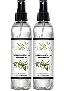 Eucalyptus Oil ShowerMist Twin Pack - 8 Ounces Each