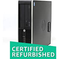 (Certified REFURBISHED) HP Compaq Pro 6300 SFF Desktop (2nd Gen Intel Core i5/4GB/500GB/Windows 7 Pro/Integrated Graphics), Black