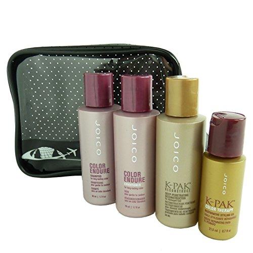 JOICO Travel Care Set - Hair Shampoo Conditioner Mask Oil Gel Foam Spray -...
