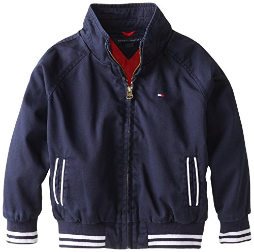 Tommy Hilfiger Little Boys' Anchor Jacket, Swim Navy, 4