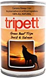 Tripett Advanced Skin and Coat Beef Tripe Duck and Salmon Canned Dog Food