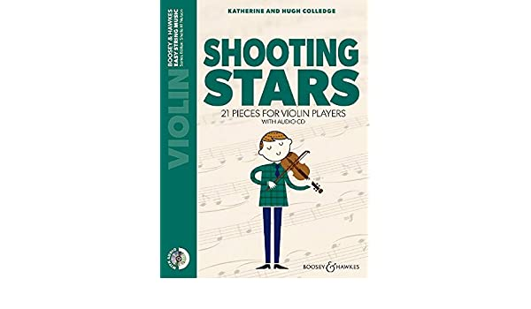 Amazon com: Shooting Stars - 21 pieces for violin players - Easy