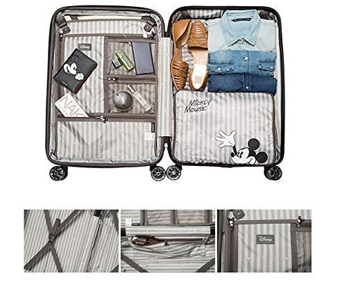 de338a8800 Amazon   H-OUTDOOR 荷物用 スーツケース キャリーケース TSAロック SUITCASE 旅行 出張 Wheelpak 24  inch IVY(海外直送品) (WHITE)   スーツケース