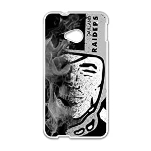 Best Oakland Raiders Phone Case for HTC One M7 by mcsharks