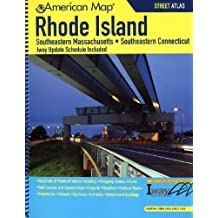 American Map Rhode Island State Road Atlas