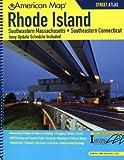 American Map Rhode Island State Road Atlas