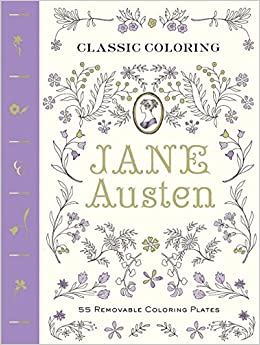 Image result for coloring classics jane austen