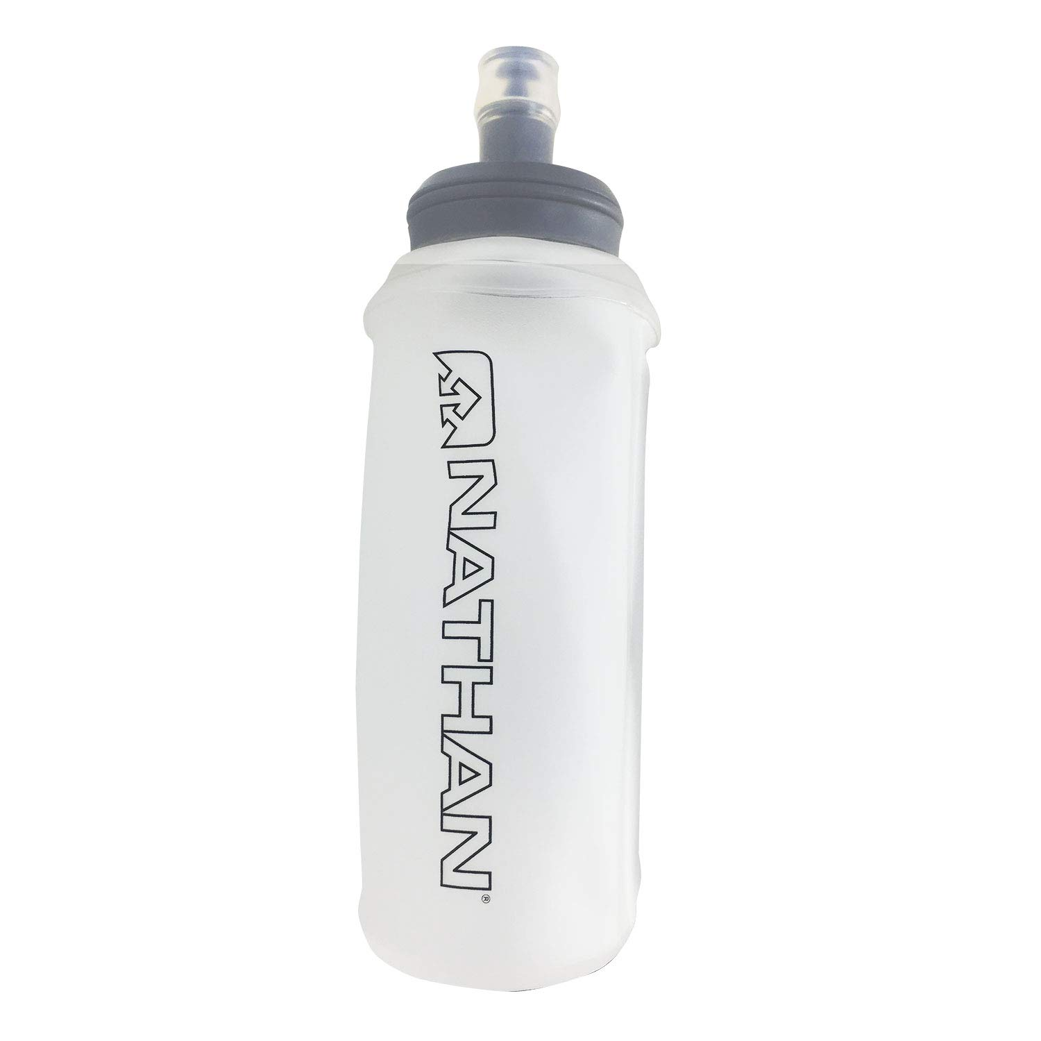 Amazon com nathan exodraw soft flask water bottle 18oz 535ml sports outdoors