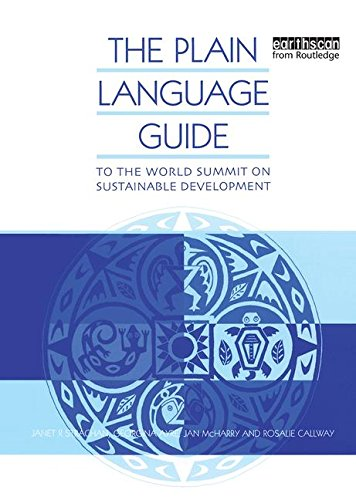 The Plain Language Guide to the World Summit on Sustainable Development by Taylor & Francis