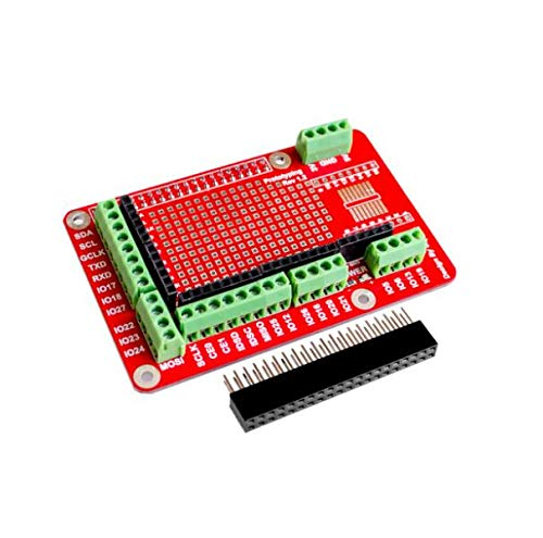 Zamtac Prototyping Expansion Shield Board for Raspberry Pi 2 Board B and Raspberry Pi 3 Board B