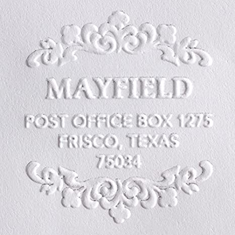 686b1d6a6eb38 Custom Embosser, Address Embosser, Embossing Stamp, Embosser Seal Shiny  EZ-Seal Round Decorative Personalized Custom Address Embosser With Name, ...
