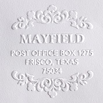 Custom Embosser, Address Embosser, Embossing Stamp, Embosser Seal