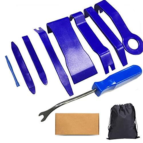 GLISTON Auto Trim Removal Tool Set, Car Pry Tool Clip Tool for Trimming Vehicle Audio/Radio, Door Panel, Window…