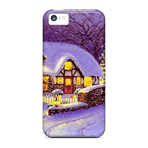ChrisArnold Perfect Cases For Iphone 5c/ Anti-scratch Protector Cases (christmas Evening)