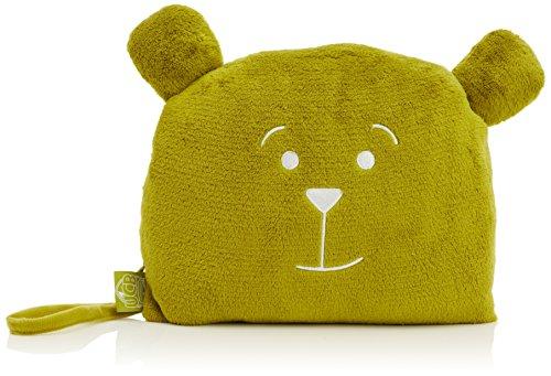 Lug UCB Agent Gomer Blanket and Pillow, Grass - Bear Travel Blanket