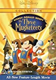 Mickey, Donald and Goofy in The Three Musketeers DVD