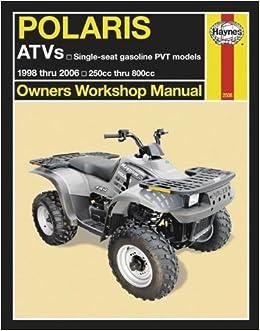 Haynes atv manual polaris m2508 0038345025082 amazon books fandeluxe Gallery