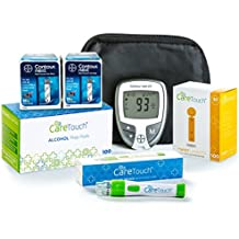 Care Touch Bayer Contour Next Diabetes Testing Kit - Bayer Contour Next EZ Meter, 100 Bayer Contour Next Test Strips, 100 Alcohol Wipes, Lancets and Lancing Device