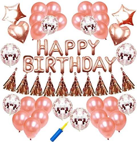 [スポンサー プロダクト]誕生日 風船 バルーン 飾り付け 装飾 Happy Birthday パーティー セット 結婚式 (バルーンのみ)