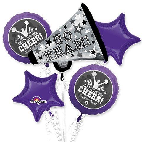 Cheerleader Go Team Go Bouquet Of Balloons -