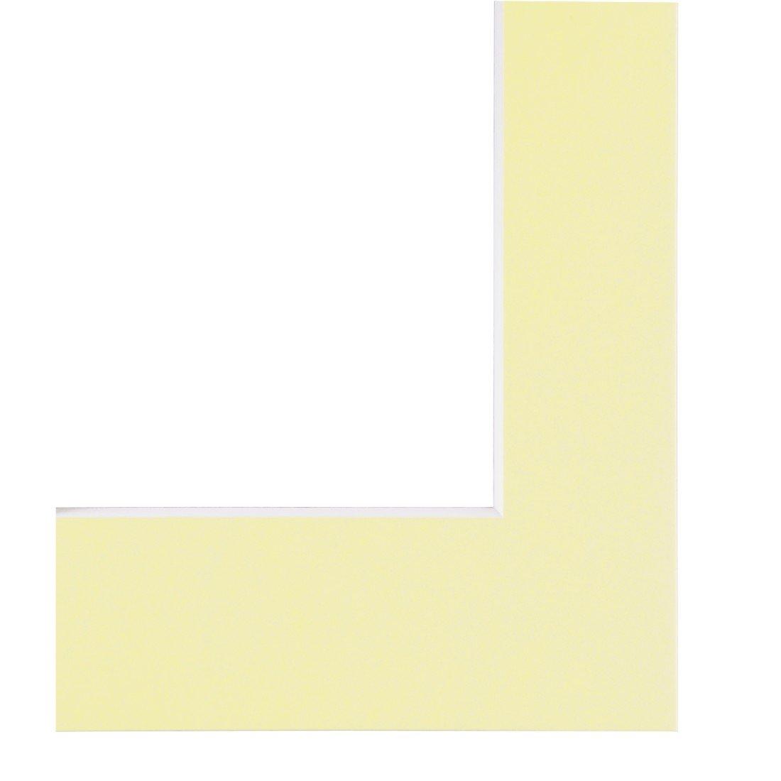 Hama Passepartout, Ivory, 24 x 30 cm - picture frames (Ivory, 24 x 30 cm, Ivory) 00059891