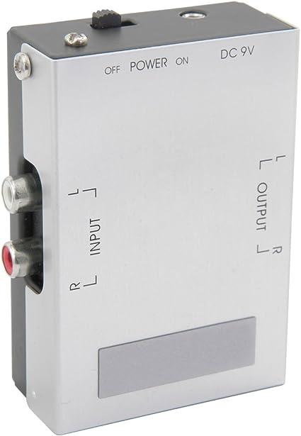 AV Link 128.513 - Preamplificador para Equipo de Audio (9V RCA ...