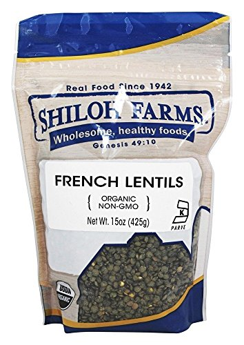 Rainbow Lentils - Shiloh Farms Organic French Lentils -- 15 oz