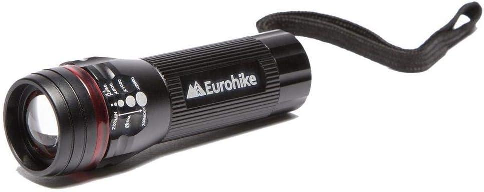 Eurohike 1W Aluminium Focus Torch Walking Hiking Lighting Torches