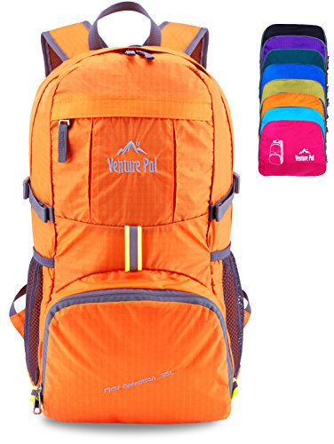 Venture Pal Lightweight Packable Durable Travel Hiking Backpack Daypack