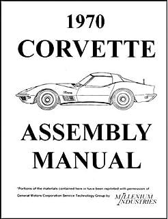 1970 1971 Corvette Wiring Diagram Manual Reprint Chevrolet Amazon Com Books