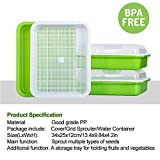 LeJoy Garden Seed Sprouter Tray BPA Free PP