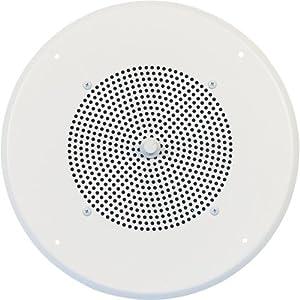 516nXMujb2L._SY300_ amazon com speco tech g86 tcg 8 inch speaker with 70 25v speco g86tg wiring diagram at soozxer.org
