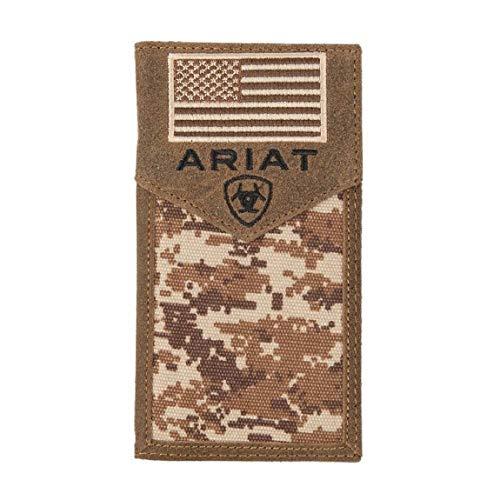 Ariat Unisex-Adult's Patriot Digital Camo Rodeo Wallet, - Mens Wallet Western