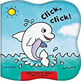 click, click!: magic pictures change color in water!