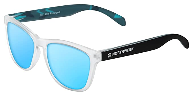 NORTHWEEK Regular, Gafas de Sol Unisex, Camo Blue, 45