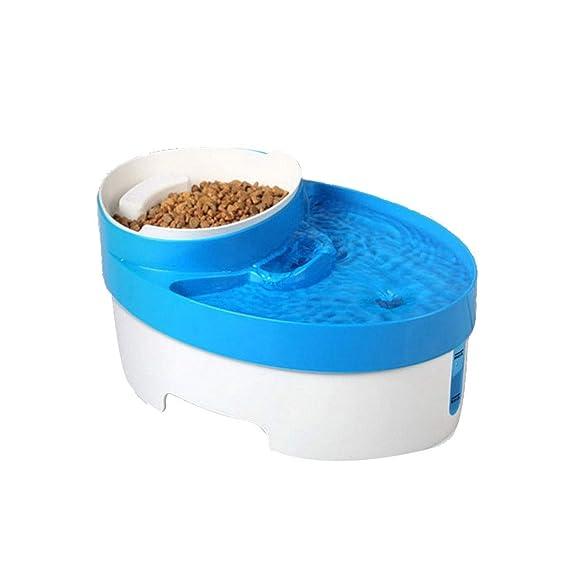HUIJUNWENTI Dispensador de Agua para Mascotas, dispensador ...
